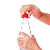 Opener fles anti-slip - rood_