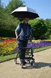 Rollator paraplu - parasol - Mobio_