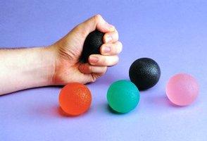 Advys oefenballetje medium, kleur groen