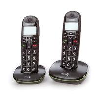 Doro PE - 100W draagbare telefoon dubbel zwart