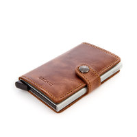 Secrid mini portefeuille MO - bruin ORIGINAL