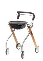 Rollator Let's go indoor - hout