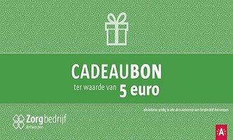 Cadeaubon dienstencentra 5 euro