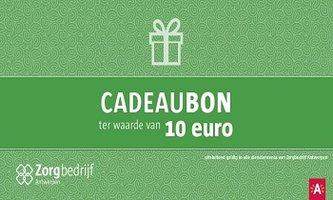 Cadeaubon dienstencentra 10 euro