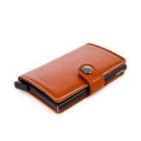 Secrid mini portefeuille ML-COGNAC/BLACK