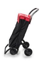 Boodschappentrolley Sbelta - zwart/rood