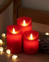 Sirius Kaarsen 3st - rood