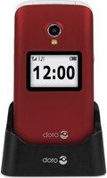 DORO  gsm 2424 - klapmodel - rood