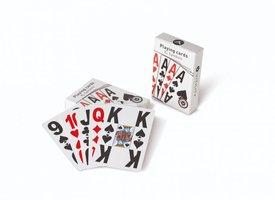 Speelkaarten met groot logo (in vier hoeken) Vitility