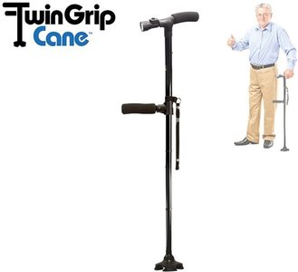 Twin Grip wandelstok