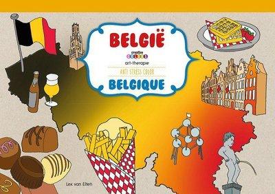 Kleurboek extra groot België.