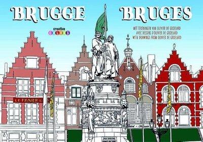 Groot kleurboek over  Brugge!