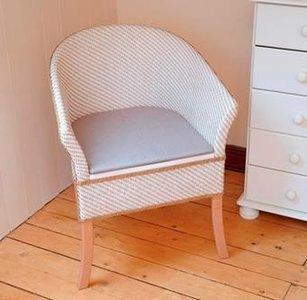 luxe toiletstoel Basket Weave