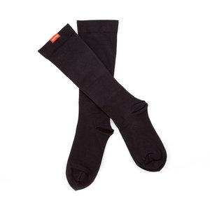 Vim & Vigr steunkousen klasse 2 - moisture wick nylon solid - mannen zwart