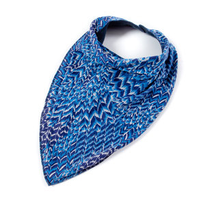 Bandana Bibble Plus - peacock - maat 4