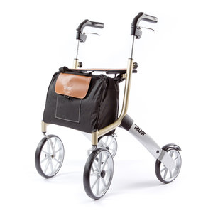 Rollator Let's go out - beige