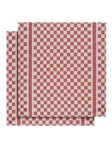 Keukenhanddoek Witte Lietaer Groom - rood